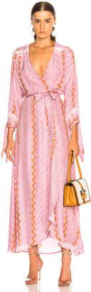 N. Natalie Martin Danika Long Sleeve Dress