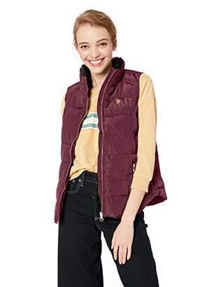 U.S. Polo Assn. Women's Faux Fur Collar Vest,S