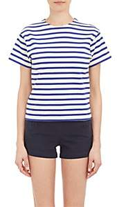 """Nlst Women's Stripe """"True"""" T-shirt - Blue"""