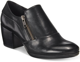 Bare Traps Kelyn Block-Heel Ankle Booties $79 thestylecure.com