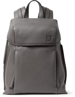 Loewe Pebble-Grain Leather Backpack