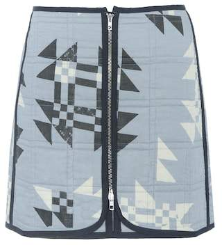 Isabel Marant Lickly quilted cotton skirt