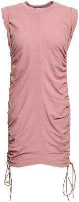 Alexander Wang Ruched Cotton-jersey Mini Dress