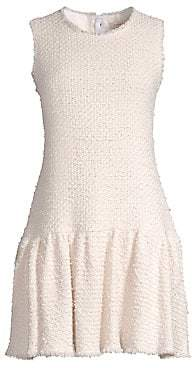 Rebecca Taylor Women's Sleeveless Multi Tweed Dress
