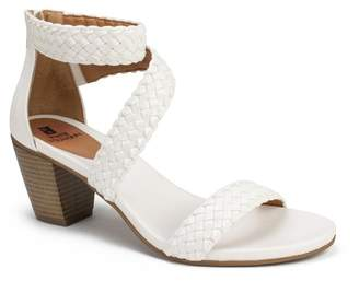 White Mountain Sundown Block Heel Sandal