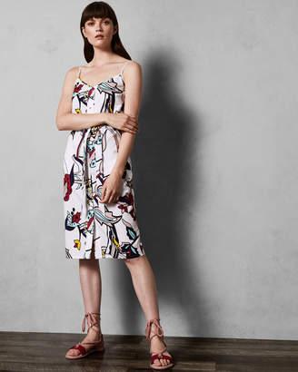 Ted Baker VIDDY A-line strappy dress