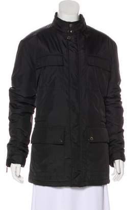 Versace Puffer Cargo Coat