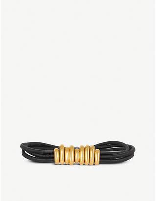 Bottega Veneta Elasticated rolled-leather belt