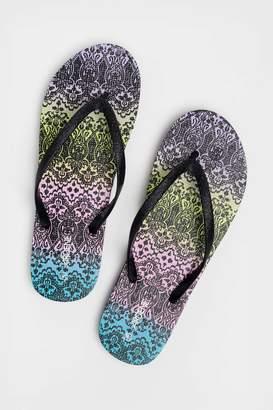 Ardene Glitter Flip-Flops