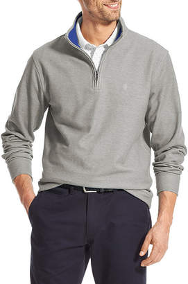 Izod Saltwater Long Sleeve Quarter-Zip Pullover
