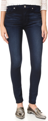 Hudson Barbara High Waisted Super Skinny Jeans $190 thestylecure.com