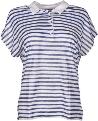 Majestic Filatures Striped Polo Shirt