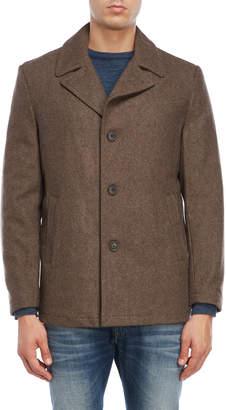 Michael Kors Light Brown Wool Overcoat