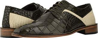 Stacy Adams Men's Triolo Croc Lizard Print Lace-Up Oxford