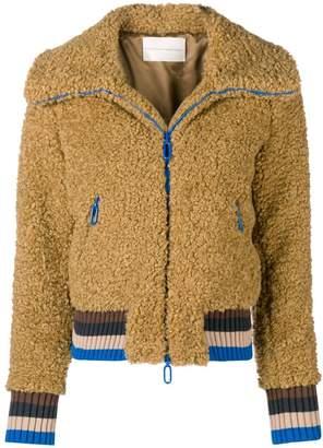 Marco De Vincenzo furry zipped jacket