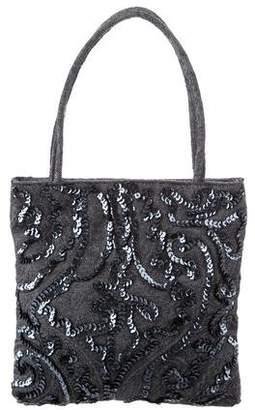 Etro Sequined Handle Bag