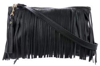 Henry Beguelin Leather & Fringe Bag