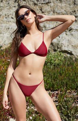 La Hearts Salero Swim Fixed Triangle Bikini Top