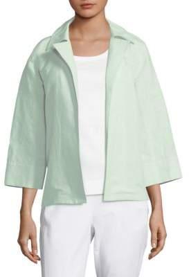 Lafayette 148 New York Tate Linen Jacket