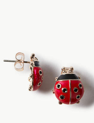 ecdb5ce4d Ladybird M&S CollectionMarks and Spencer Stud Earrings