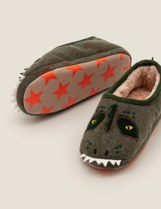 Boden Dinosaur Slippers