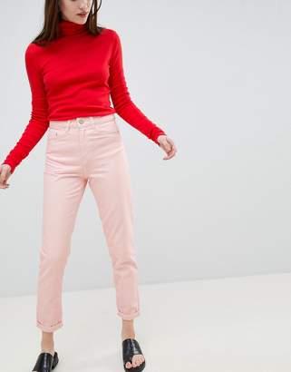 WÅVEN Elsa Pink Mom Jeans
