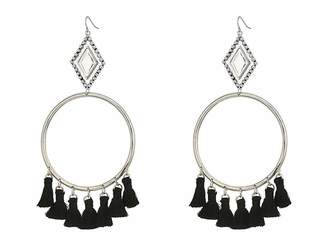 Vanessa Mooney The Ania Tassel Hoop Earrings Earring