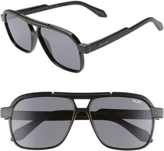 Quay Nemesis 56mm Polarized Navigator Sunglasses