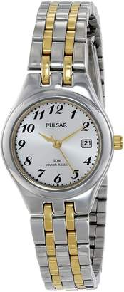 Pulsar Women's PH7237X Analog Display Japanese Quartz Two Tone Watch