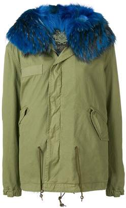 Mr & Mrs Italy fur-trimmed parka coat