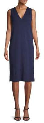 Lafayette 148 New York Wool & Cashmere Sleeveless Sweater Dress