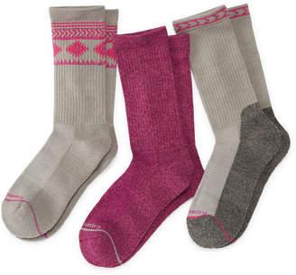Free Country 3 Pair Crew Socks
