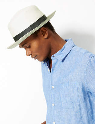 Marks and Spencer Foldable Panama Hat Made by Christys