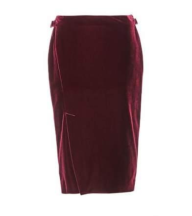 Tom Ford Velvet skirt