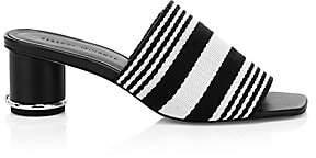 Rebecca Minkoff Women's Aceline Stripe Mule Sandals