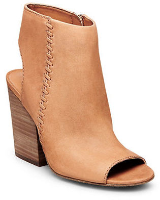 Steve Madden Mingle 1 Cutout Nubuck Booties $109 thestylecure.com