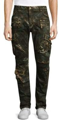 Slim Fit Military Jeans