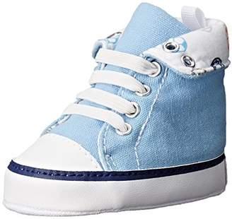 Gerber Boys' Med Blue Rollover Hightop-K Sneaker