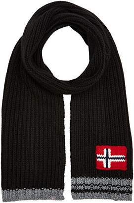 Napapijri Men's Foreil Scarf (Black 041), One (Size: D)