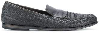 Pantanetti woven loafers