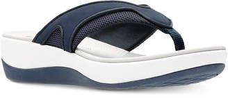 Clarks Collection Women's Cloudsteppers Arla Marina Flip-Flops Women's Shoes