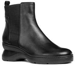 Geox Ascythia Leather Boots