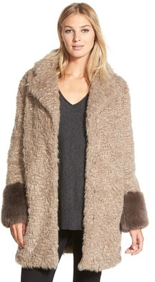 Laundry by Shelli Segal Laundry by Shelli Segal Faux Fur Coat $198 thestylecure.com