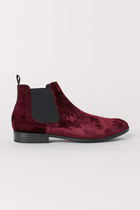 H&M Chelsea-style Boots - Red
