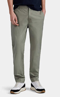 ATM Anthony Thomas Melillo Men's Cotton Twill Slim-Straight Trousers - Green