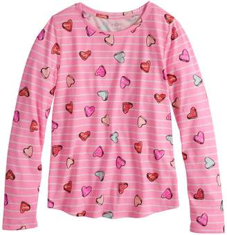 ac52b3f5713 So Girls 7-16   Plus Size SO Long Sleeve Core Tee