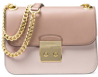 MICHAEL Michael Kors Michael Kors Colorblock Leather Shoulder Bag