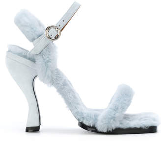 Nicole Saldaña Dylan sandals