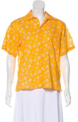 R 13 Short Sleeve Button-Up Top w/ Tags
