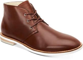 Calvin Klein Men's Albe Nappa Leather Chukka Boots Men's Shoes